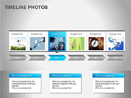 Timeline Photos Diagram, Slide 11, 00061, Timelines & Calendars — PoweredTemplate.com