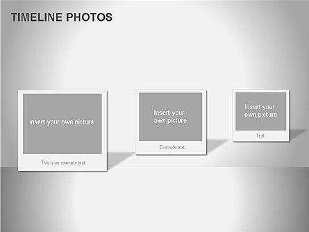 Timeline Photos Diagram, Slide 13, 00061, Timelines & Calendars — PoweredTemplate.com
