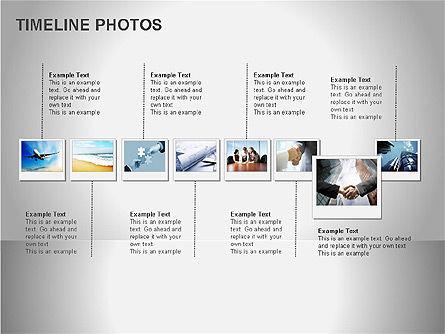Timeline Photos Diagram, Slide 14, 00061, Timelines & Calendars — PoweredTemplate.com