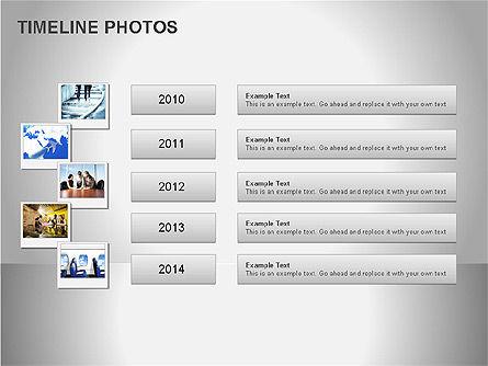 Timeline Photos Diagram, Slide 15, 00061, Timelines & Calendars — PoweredTemplate.com