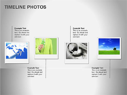 Timeline Photos Diagram Slide 4