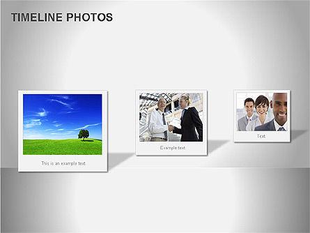 Timeline Photos Diagram, Slide 9, 00061, Timelines & Calendars — PoweredTemplate.com
