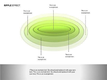 Ripple Effect Diagrams, Slide 11, 00062, Process Diagrams — PoweredTemplate.com