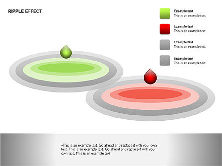 Ripple Effect Diagrams, Slide 12, 00062, Process Diagrams — PoweredTemplate.com