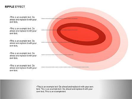 Ripple Effect Diagrams, Slide 13, 00062, Process Diagrams — PoweredTemplate.com