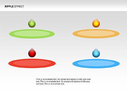 Ripple Effect Diagrams, Slide 14, 00062, Process Diagrams — PoweredTemplate.com