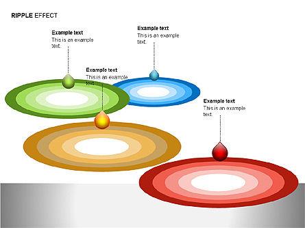 Ripple Effect Diagrams, Slide 15, 00062, Process Diagrams — PoweredTemplate.com