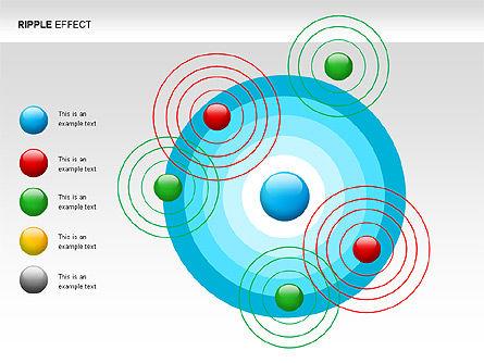 Ripple Effect Diagrams, Slide 2, 00062, Process Diagrams — PoweredTemplate.com