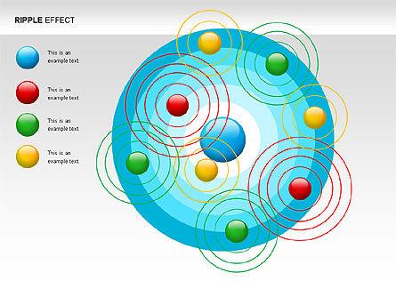 Ripple Effect Diagrams, Slide 3, 00062, Process Diagrams — PoweredTemplate.com