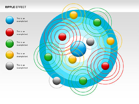 Ripple Effect Diagrams, Slide 4, 00062, Process Diagrams — PoweredTemplate.com