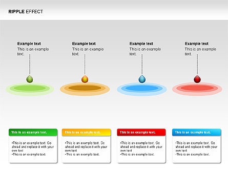 Ripple Effect Diagrams, Slide 5, 00062, Process Diagrams — PoweredTemplate.com