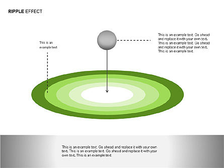 Ripple Effect Diagrams, Slide 6, 00062, Process Diagrams — PoweredTemplate.com