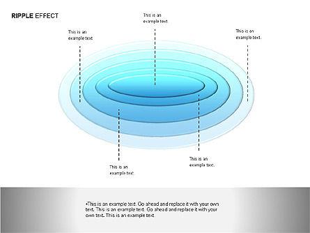 Ripple Effect Diagrams, Slide 8, 00062, Process Diagrams — PoweredTemplate.com