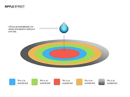 Ripple Effect Diagrams, Slide 9, 00062, Process Diagrams — PoweredTemplate.com