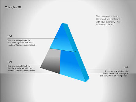 3D Triangle Shapes, 00063, Shapes — PoweredTemplate.com