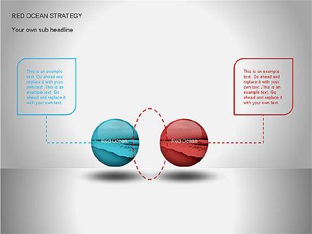 Red Ocean Strategy Diagram, Slide 5, 00065, Business Models — PoweredTemplate.com