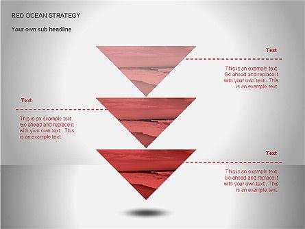 Red Ocean Strategy Diagram, Slide 6, 00065, Business Models — PoweredTemplate.com