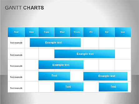 Stage Diagrams: Diagrammi di Gantt #00066