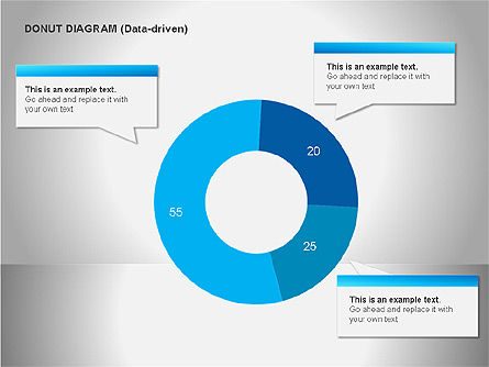 Pie Charts: Diagram Data Driven #00068