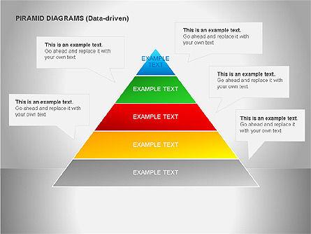 Data Driven Diagrams, Slide 10, 00068, Pie Charts — PoweredTemplate.com