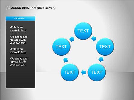 Data Driven Diagrams, Slide 11, 00068, Pie Charts — PoweredTemplate.com