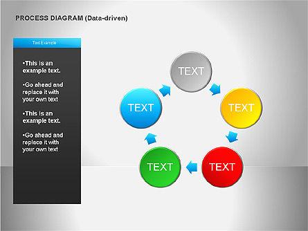 Data Driven Diagrams, Slide 12, 00068, Pie Charts — PoweredTemplate.com