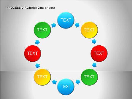 Data Driven Diagrams, Slide 13, 00068, Pie Charts — PoweredTemplate.com