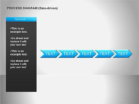 Data Driven Diagrams, Slide 14, 00068, Pie Charts — PoweredTemplate.com