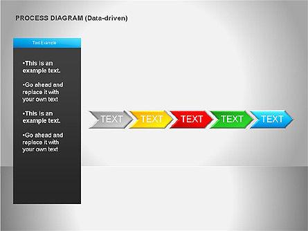 Data Driven Diagrams, Slide 15, 00068, Pie Charts — PoweredTemplate.com