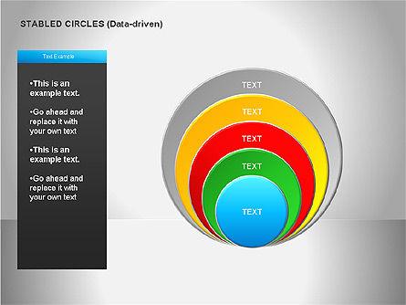 Data Driven Diagrams, Slide 17, 00068, Pie Charts — PoweredTemplate.com