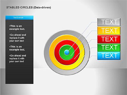 Data Driven Diagrams, Slide 20, 00068, Pie Charts — PoweredTemplate.com