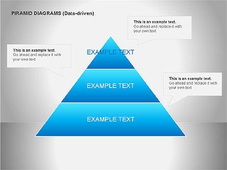 Data Driven Diagrams, Slide 8, 00068, Pie Charts — PoweredTemplate.com