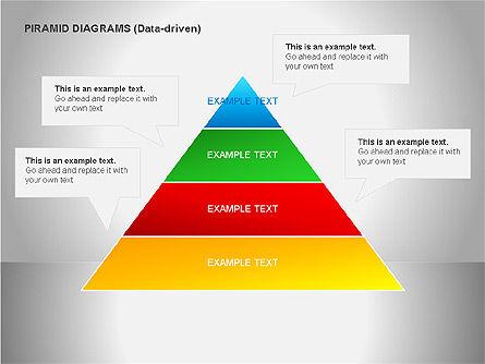 Data Driven Diagrams, Slide 9, 00068, Pie Charts — PoweredTemplate.com