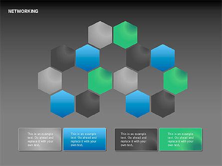 Network Diagrams, Slide 9, 00069, Graph Charts — PoweredTemplate.com