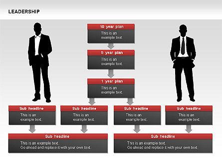 Leadership Shapes, Slide 11, 00071, Shapes — PoweredTemplate.com