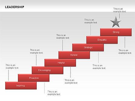 Leadership Shapes, Slide 12, 00071, Shapes — PoweredTemplate.com
