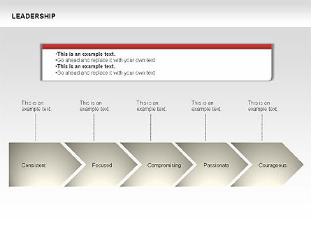 Leadership Shapes, Slide 13, 00071, Shapes — PoweredTemplate.com