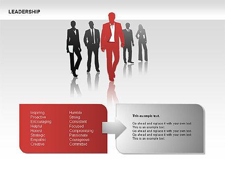 Leadership Shapes, Slide 5, 00071, Shapes — PoweredTemplate.com