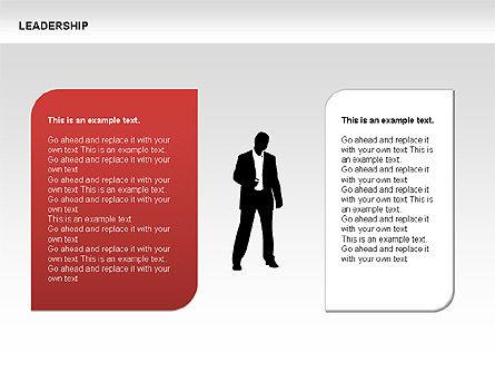 Leadership Shapes, Slide 9, 00071, Shapes — PoweredTemplate.com