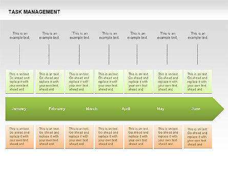 Task Management Charts, Slide 10, 00072, Organizational Charts — PoweredTemplate.com