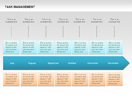 Task Management Charts, Slide 11, 00072, Organizational Charts — PoweredTemplate.com