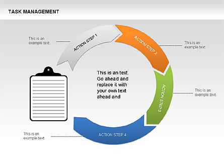 Task Management Charts, Slide 6, 00072, Organizational Charts — PoweredTemplate.com