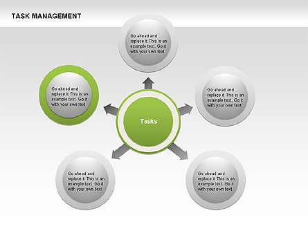 Task Management Charts, Slide 8, 00072, Organizational Charts — PoweredTemplate.com