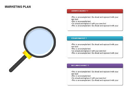 Marketing Plan Diagram, Slide 12, 00073, Business Models — PoweredTemplate.com