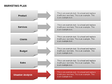 Marketing Plan Diagram, Slide 20, 00073, Business Models — PoweredTemplate.com