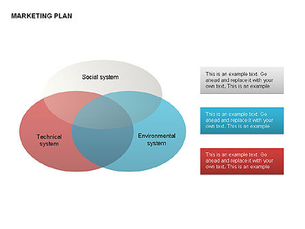 Marketing Plan Diagram, Slide 5, 00073, Business Models — PoweredTemplate.com