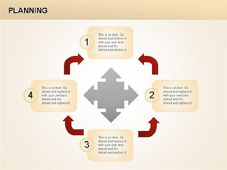Planning Diagrams, Slide 11, 00074, Process Diagrams — PoweredTemplate.com