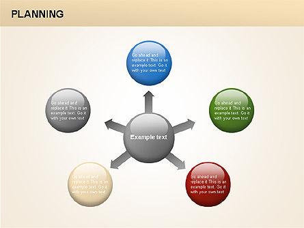 Planning Diagrams, Slide 17, 00074, Process Diagrams — PoweredTemplate.com