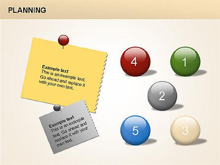 Planning Diagrams, Slide 2, 00074, Process Diagrams — PoweredTemplate.com