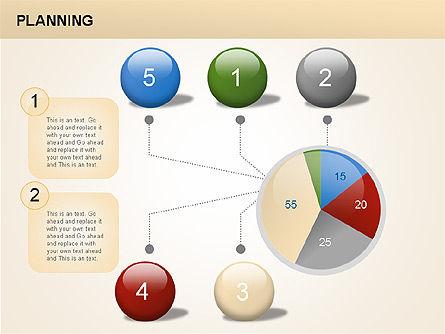 Planning Diagrams, Slide 3, 00074, Process Diagrams — PoweredTemplate.com